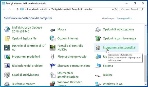 Come installare Linux Ubuntu da Windows. Programmi e funzionalità