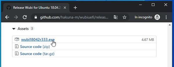 Come installare Linux Ubuntu da Windows. Download wubiuefi