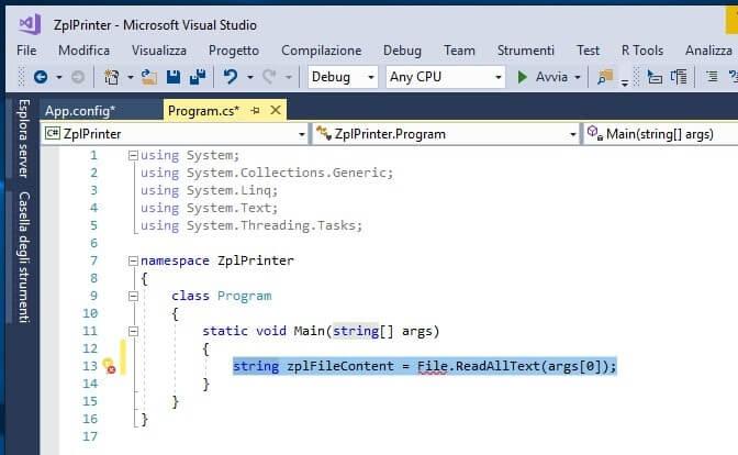 Inviare comandi ZPL a stampanti Zebra in C# file content