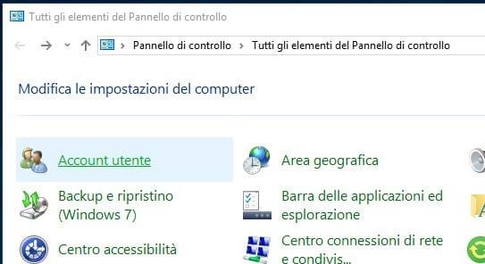 Visualizzare password in Microsoft Edge account utente
