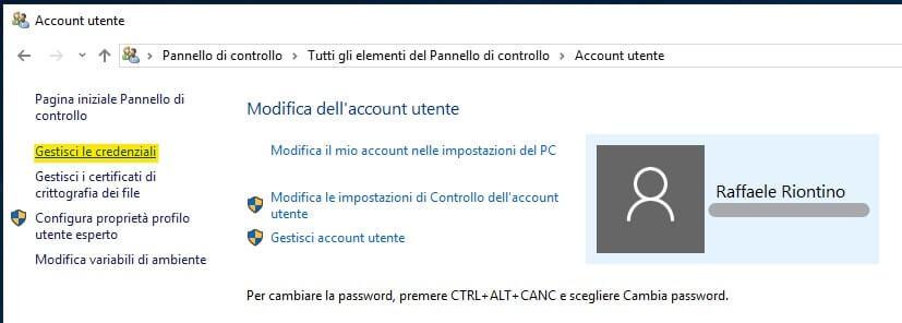 Visualizzare password salvate in Microsoft Edge gestisci credenziali